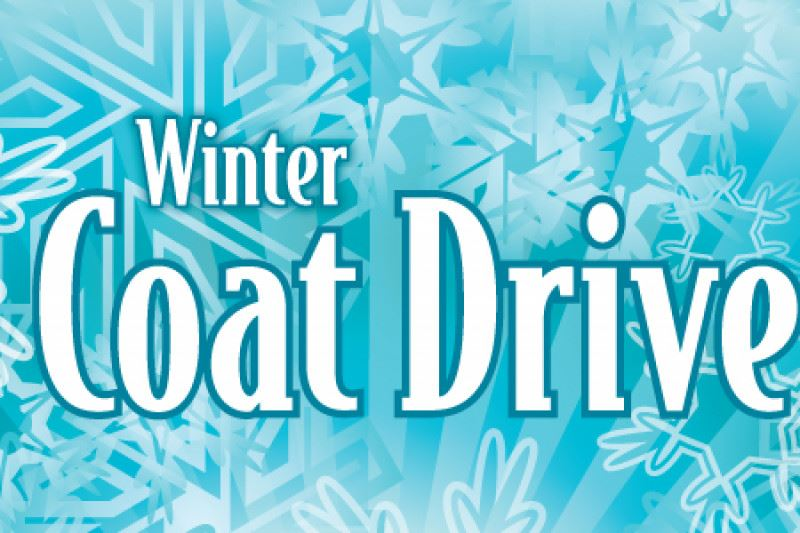 Winter Coat Drive Graphic